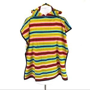 American Apparel striped terry swim cover up - OS